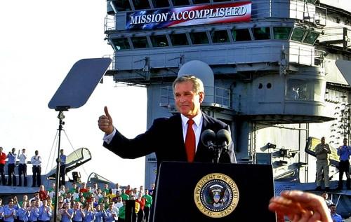 Mission un-acomplished